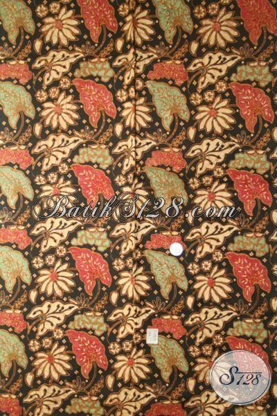 Jual Produk Kain Batik Premium Kombinasi Tulis, Batik Bahan Busana Formal Pria Dengan Motif Mewah Dan Berkelas