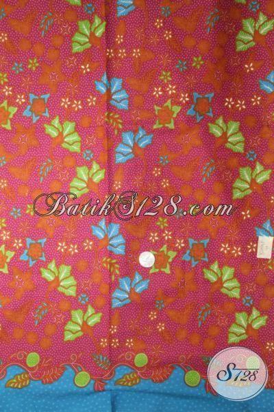 Kain Batik Modern Motif Keren Halus Dan Adem, Batik Print Murmer Kwalitas Mewah Cocok Untuk Busana Wanita Dan Pria