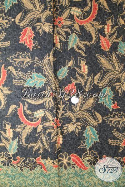 Jual Kain Batik Printing Lasem Motif  Bunga, Pilihan Tepat Para Wanita Untuk Bahan Busana Berkelas Dengan Harga Yang Sangat Terjangkau