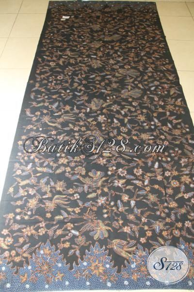 Kain Batik Mahal Dan Premium, Batik Bahan Busana Elegan Mewah Kesukaan Pejabat Dan Executive, Batik Motif Nukilo Kembar Proses Tulis Dengan Pewarna Alami [K2052TA-250 x 100 cm ]