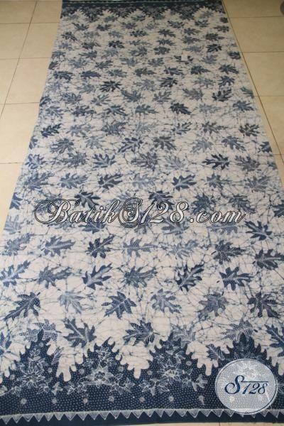 Batik Kain Solo Halus Tulis Tangan Asli, Batik Jawa Etnik Motif Godhong Kates Pewarna Alam Lebih Lembut Dan Adem Untuk Busana Formal