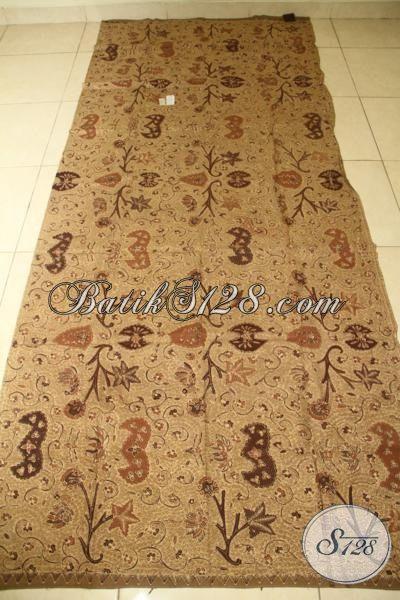 Sedia Kain Batik Wahyu Tumurun, Batik Solo Halus Bahan Busana Premium Proses Tulis Dengan Warna Alami, Cocok Untuk Pakain Resmi Wanita Pria