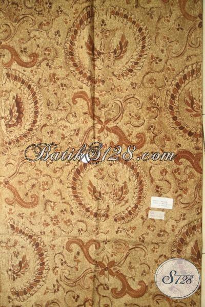Kain Klasik Batik Jawa Kwalitas Mewah, Batik Solo Premium Tulis Tangan, Bahan Baju Kerja Pria Karir Sukses Tampil Makin Gagah, Motif Cuwiri