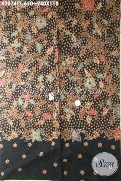 Batik Premium Bahan Pakaian Wanita Pria, Kain Batik Tulis Motif Mewah Kwalitas Premium Bikin Penampilan Makin Ciamik