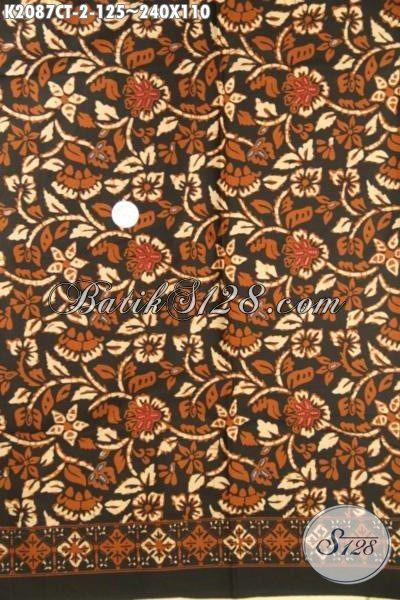 Jual Kain Batik Keluaran Terbaru Dari Solo, Batik Bahan Busana Motif Trendy Proses Cap Tulis Kwalitas Halus Hanya 100 Ribuan
