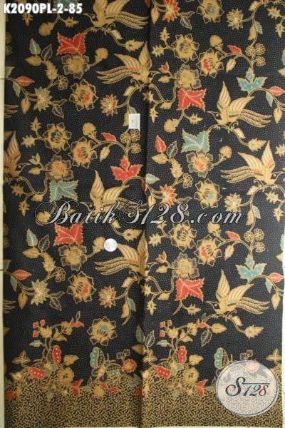 Kain Batik Modern Produk Solo Keluaran Terkini, Batik Bahan Blus Dan Dress Cantik Tampil makin Menarik, Proses Print Lasem [K2090PL-240 x 105cm]