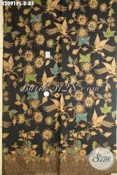 Batik Solo Terkini Dengan Motif Modern Yang Modis Dan Fashionable, Kain Batik Kwalitas Tinggi Harga Murmer Buat Bahan Pakaian Cewek