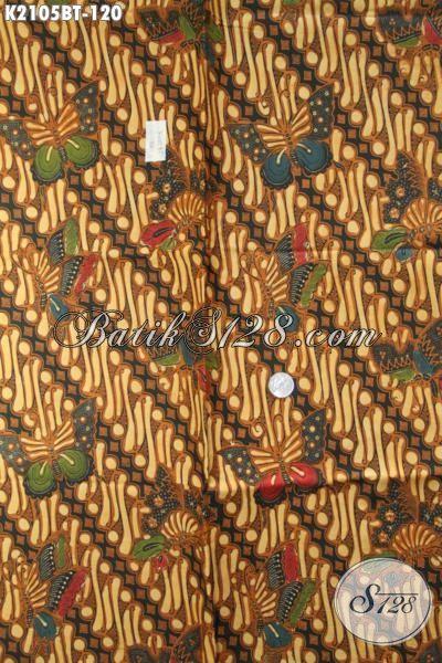 Kain Batik Bagus Kwalitas Halus Motif Klasik, Batik Jawa Parang Kupu Proses Kombinasi Tulis Pas Banget Buat Pakaian Formal