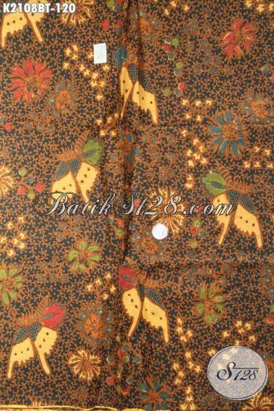 Kain Batik Kombinasi Tulis Motif Nuansa Klasik Elegan Dan Berkelas, Batik Jawa Masa Kini Bahan Pakaian Wanita Dan Pria Tampil Modis Berwibawa