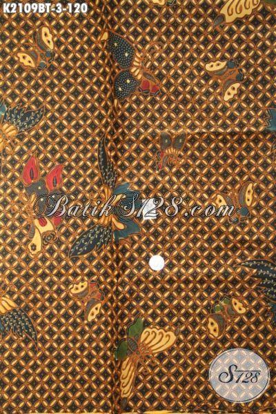 Kain Batik Klasik Buatan Solo Kwalitas Premium Harga Minimum, Batik Jawa Etnik Kombinasi Tulis Motif Mewah Cocok Untuk Blus Wanita