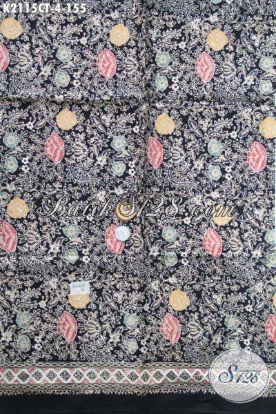 Batik Trendy Bahan Pakaian Wanita Karir, Kain Batik Solo Cap Tulis Motif Terbaru Yang Menunjang Penampilan Makin Modis Dan Berkelas [K2115CT-200×100 cm]