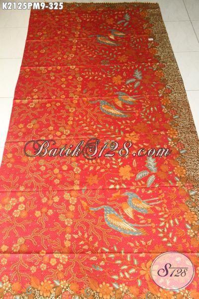 Batik Jawa Terbaru Kwalitas Bagus Dan Berkelas, Kain Batik Bahan Pakaian Istimewa Proses Kombinasi Tulis Dengan Motif Trendy Nan Mewah, Cocok Buat Baju Pesta