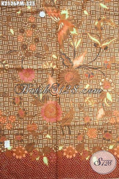 Produk Kain Batik Istimewa Buatan Solo Motif Bagus Dan Berkelas, Batik Klasik Modern Proses Kombinasi Tulis Bahan Kemeja Pria Untuk Tampil Gagah Dan Elegan