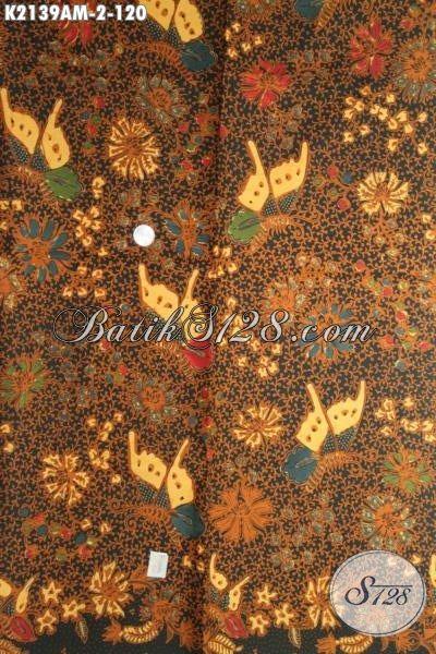 Jual Online Batik Kain Halus Motif Terbaru Cocok Banget Untuk Baju Formal Wanita Karir, Produk Batik Solo Kombinasi Tulis Kwalitas Mewah Harga Murah