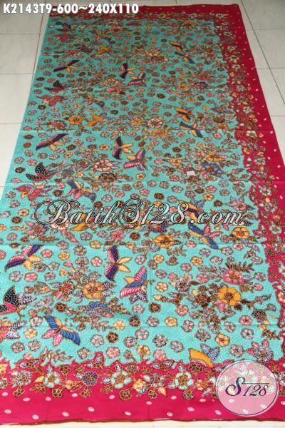 Kain Batik Istimewa Buatan Solo Proses Tulis Tangan Asli, Batik Premium Bahan Aneka Busana Wanita Masa Kini Untuk Terlihat Makin Cantik Sempurna