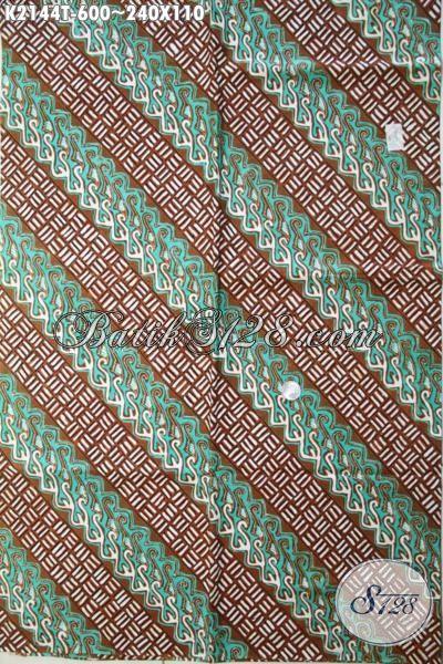 Batik Parang Proses Tulis Tangan Berpadu Warna Trendy Yang Berkelas, Cocok Untuk Pakaian Kerja Dan Baju Kondangan Kawula Muda