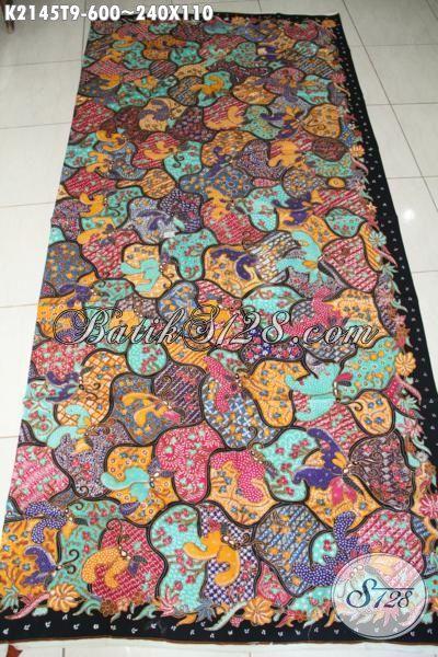 Batik Modern Motif Unik Kwalitas Mewah, Kain Batik Solo Premium Masa Kini Bahan Aneka Busana Gaul Untuk Pria Dan Wanita Tampil Mempesona