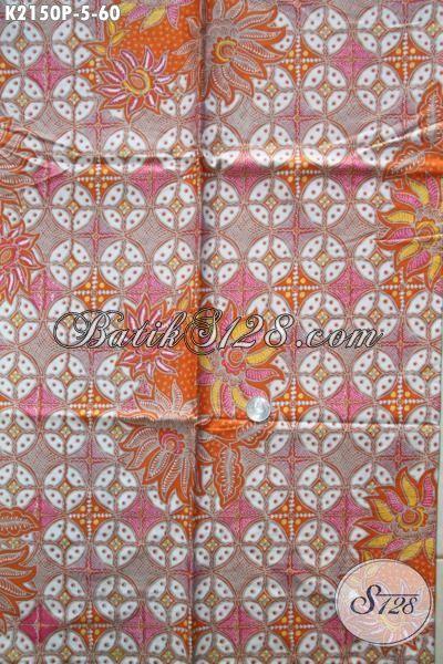 Produk Kain Batik Solo Paling Baru, Batik Printing Bahan Busana Modern Hadir Dengan Motif Dan Warna Yang Inovatif Dan Menarik