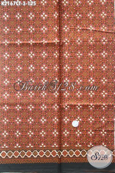 Batik Solo Terbaru Dengan Motif Modern Dengan Sentuhan Klasik Cocok Untuk Baju Batik Formal Dan Santai, Batik Motif Unik Proses Cap Tulis Penampilan Makin Berkelas [K2167CT-200×105 cm]
