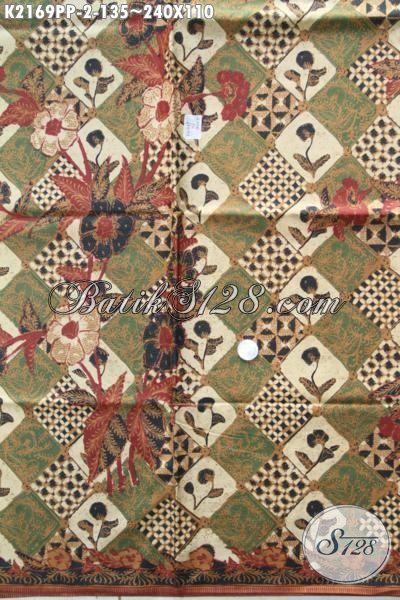 Kain Batik Istimewa Produk Terbaru Dari Solo, Batik Modern Motif Klasik Berkelas Proses Printing Pas Buat Baju Formal Tampil Lebih Elegan