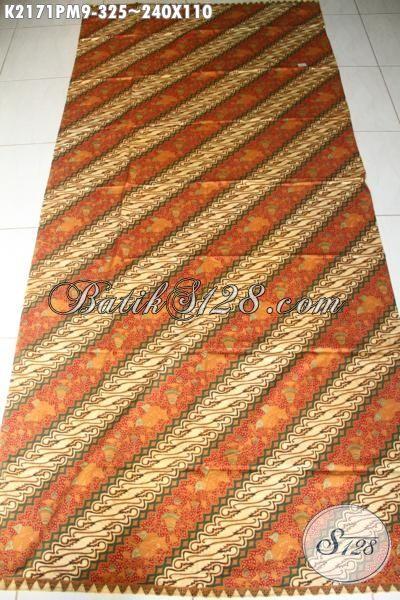 Jual Kain Batik Parang Harga 300 Ribuan, Batik Klasik Kombinasi Tulis Kwalitas Bagus Untuk Busana Formal Wanita Dan Pria Karir
