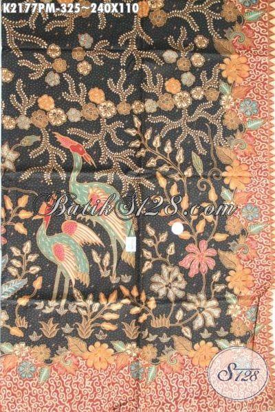 Kain Batik Berkwalitas Tinggi Bahan Busana Pria Proses Kombinasi Tulis, Batik Motif Terbaru Yang Lebih Mewah Dan Berkelas Bikin Pria Terlihat Gagah Dan Tampan [K2177PM-240x110cm]