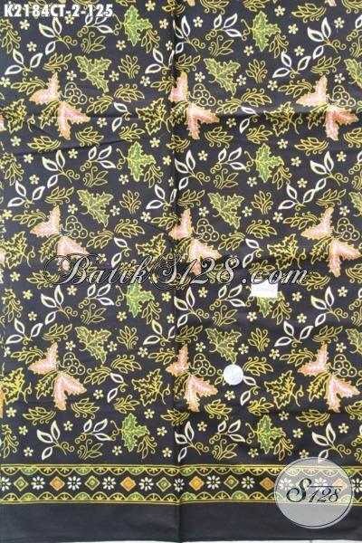 Kain Batik Bahan Baju Wanita, Batik Solo Kwalitas Halus Dan Adem Proses Cap Tulis Nyaman Buat Dress Atau Blus