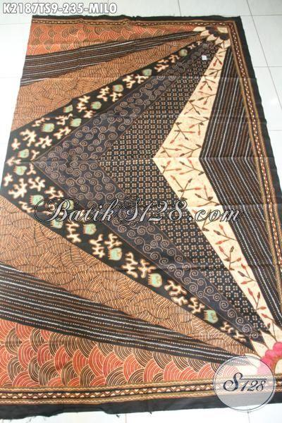 Batik Jawa Etnik Motif Klasik Proses Tulis Soga Nan Mewah, Batik Kwalitas Premium Bahan Pakaian Formal Mewah Harga 200 Ribuan Saja