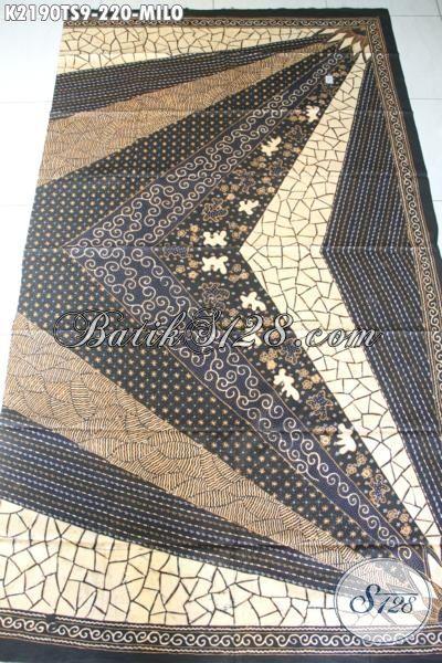 Batik Bagus Proses Tulis Soga Kwalitas Halus, Kain Batik Yang Adem Nyaman Untuk Busana Kerja Desain Formal