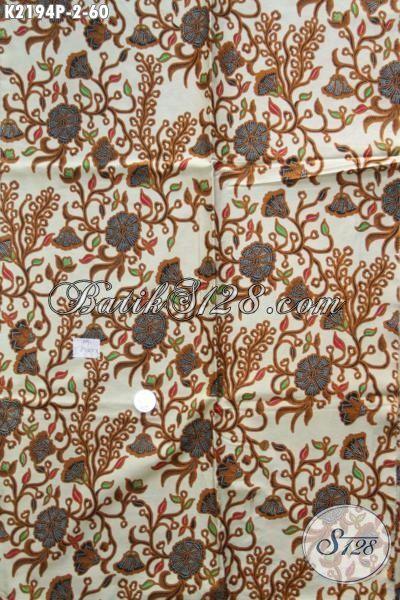Jual Online Batik Solo Halus Proses Printing Motif Bagus Dan Berkelas, Kain Batik 60 Ribuan Bahan Pakaian Keren Tampil Lebih Beken