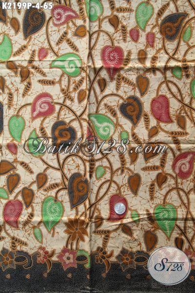 Jual Batik Trendy Bahan Pakaian Kerja Wanita Karir, Batik Printing Halus Bahan Busana Dress Cantik Untuk Cewek Kwalitas Bagus Hanya 60 Ribuan Saja