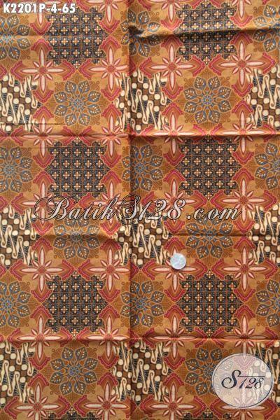 Kain Batik Bahan Busana Pria Muda Dan Dewasa, Batik Printing Motif Terbaru Yang Fashionable Dan Gaul, Cocok Untuk Baju Santai