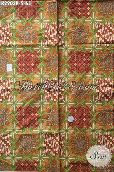 Jual Produk Batik Kain Halus Motif Trendy Buatan Solo, Batik Printing Istimewa Elegan Untuk Baju Kerja Dan Modis Buat Pakaian Pesta