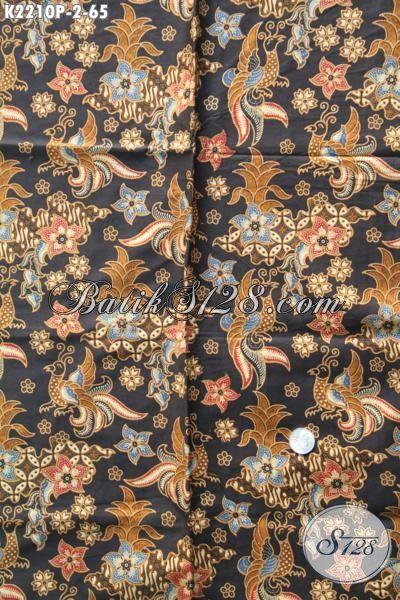 Batik Istimewa Bahan Busana Elegan Wanita Dewasa, Batik Solo Printing Halus Modis Juga Untuk Baju Pesta