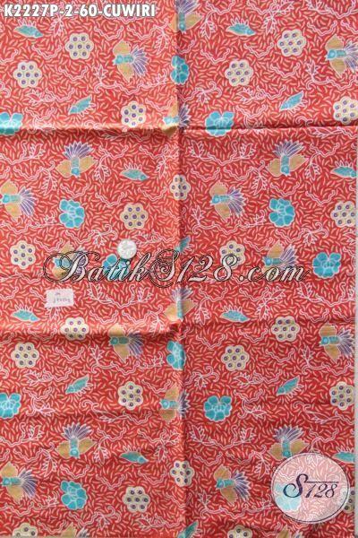 Jual Batik Cuwiri Kwalitas Halus Proses Printing, Produk Kain Batik Solo Bahan Pakaian Wanita Masa Kini Untuk Tampil Gaya Dan Mempesona