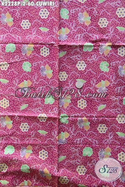 Batik Kain Jawa Tengah Halus Adem Motif Cuwiri, Batik Baha Busana Berkelas Cocok Buat Seragam Kerja Dan Baju Pesta, Proses Printing
