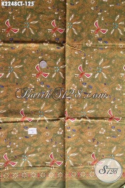 Batik Kain Jawa Tengah Motif Unik Dan Keren, Batik Bahan Busana kwalitas Halus Proses Cap Tulis Penunjang Penampilan Lebih Stylish