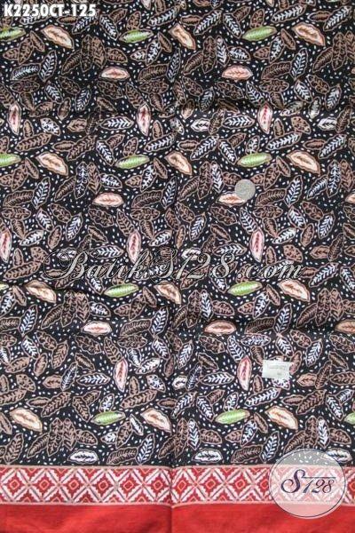Jual Kain Batik Modern Halus Motif Keren Proses Cap Tulis, Batik Jawa Tengah Trend Terkini Bahan Pakaian Kerja Dan Pesta