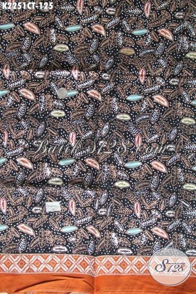 Batik Jawa Halus Buatan Solo Hadir Dengan Motif Terkini Yang Lebih Berkelas Dan Trendy, Batik Bahan Baju Santai Untuk Penampilan Makin Modis [K2251CT-200x110cm]