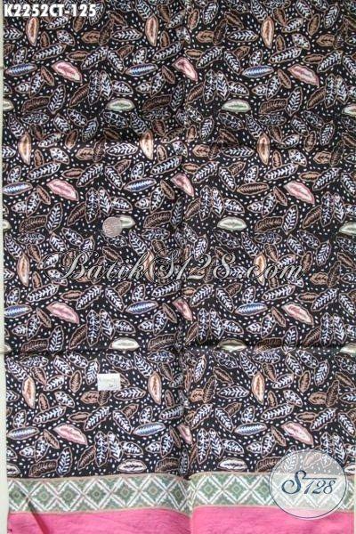 Batik Kain Halus Modis Untuk Seragam Kerja, Jual Online Batik Cap Tulis Motif Paling Baru Cocok Juga Untuk Baju Santai [K2252CT-200x110cm]