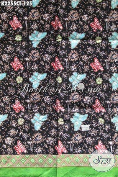 Toko Produk Batik Online Terlengkap, Sedia Bahan Baju Batik Motif Modis Dan Trendy, Batik Solo Cap Tulis Kwalitas Istimewa Hanya 125K [K2255CT-200x110cm]