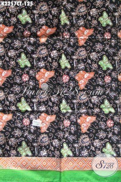 Kain Batik Bahan Pakaian Wanita Formal Dan Santai, Batik Solo Istimewa Harga Biasa Proses Cap Tulis Warna Keren