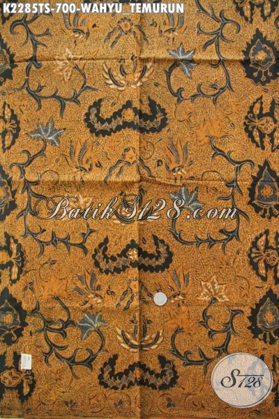 Sedia Batik Klasik Wahyu Tumurun Bahan Busana Formal Elegan Nan
