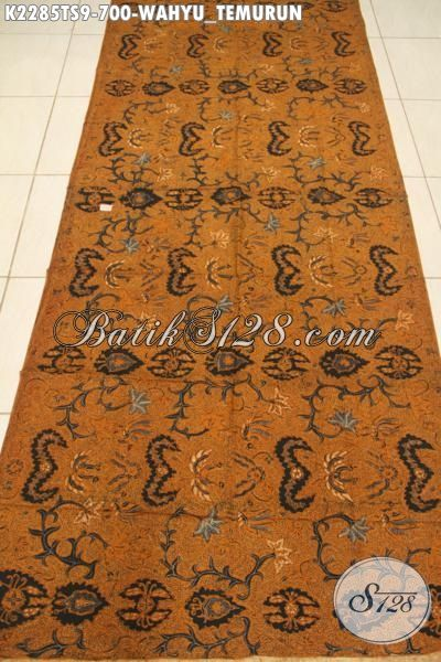 Produk Kain Batik Premium Motif Wahyu Tumurun Bahan Pakaian Formal Proses Tulis Soga Harga 700K