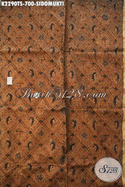 Batik Sidomukti,Batik Tradisional, Batik Tulis Tradisional