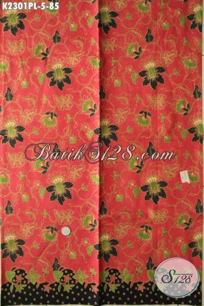 Di Jual Online Kain Batik Modern Dari Solo, Batik Halus Motif Keren Bahan Adem Proses Printing, Cocok Buat Baju Santai Dan Formal Harga 80 Ribuan Saja