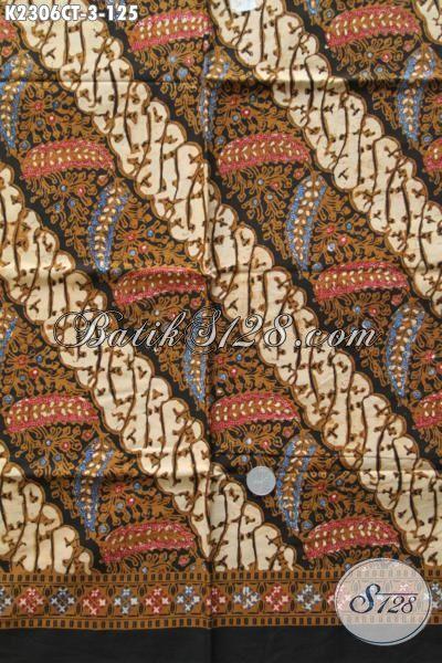 Kain Batik Bahan Dress Kwalitas Bagus, Kain Batik Cap Tulis Bahan Hem Pria Asli Buatan Solo