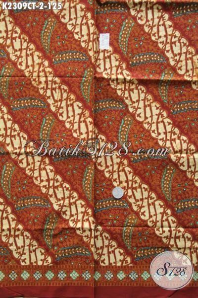 Batik Kain Modis Istimewa Bahan Pakaian Kwalitas Bagus Dengan Harga Terjangkau, Batik Kain Elegan Proses Cap Tulis Di Jual Online Harga Grosir