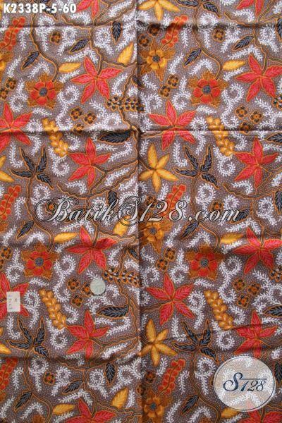 Kain Batik Halus Motif Modern Bahan Busana Keren Trend Masa Kini, Batik Solo Proses Printing Harga 65 Ribu Buat Tampil Lebih Modis