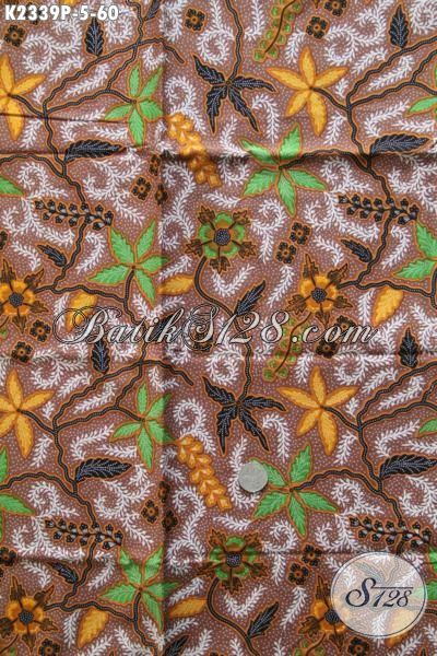 Toko Produk Batik Solo Online Terlengkap, Sedia Kain Batik Modis Warna Berkelas Bahan Busana Santai Wanita Dan Pria Tampil Lebih Modis [K2339P-200x110cm]